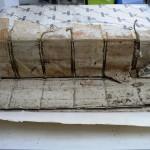 03a-indorsatura in pergamena manoscritta
