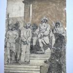 04a disegno a inchiostro e acquerello, prima